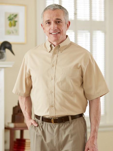 Twill Shirt Short Sleeves