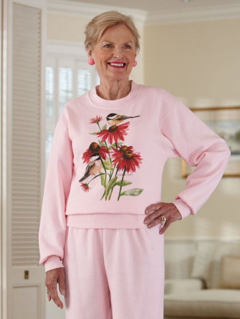 Women's Printed Sweatsuit (S-XL)