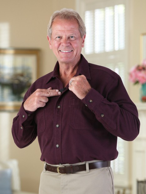 Chamois Shirt with VELCRO® brand fasteners