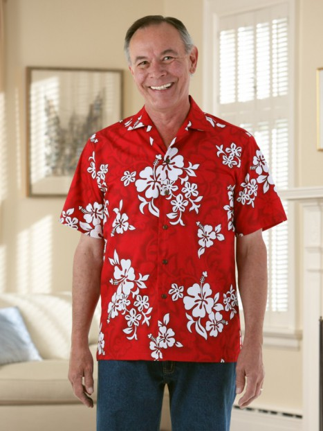 VELCRO® Front Hawaiian Shirt