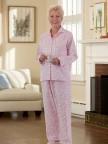 Women's Flannel Pajamas Image 02