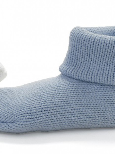 Non-Skid Knit Slipper Socks