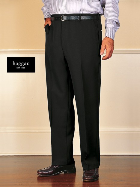 Men's Polyester Dress Slacks by Haggar