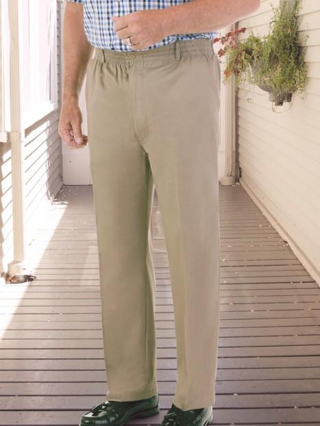 Men's Twill Zip-Fly Putter Pants (S-XL)