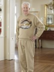 Men's Printed Adaptive Sweatsuit Image 01
