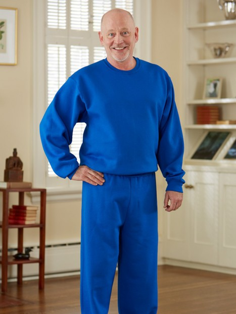 Men's Basic Sweat Jumpsuit (S-XL)