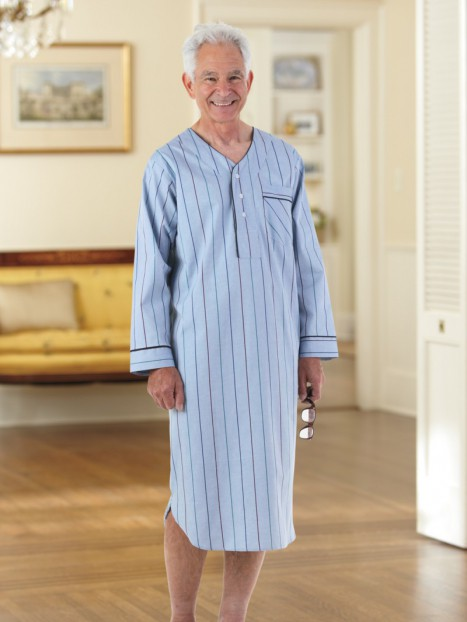 Men's Cotton/Poly Nightshirt