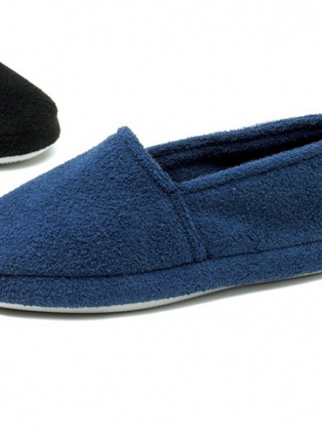 Men's Terry Slipper-Lg Only