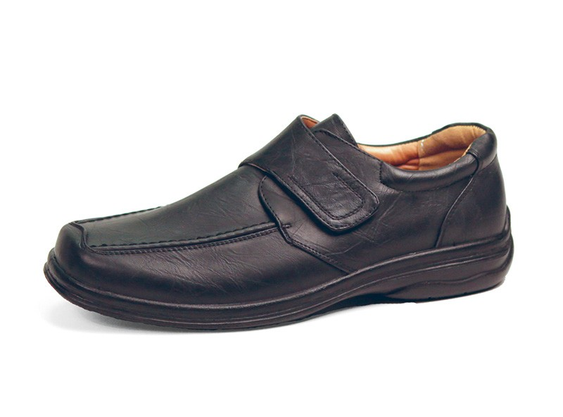 Velcro Closure Men S Walking Shoes
