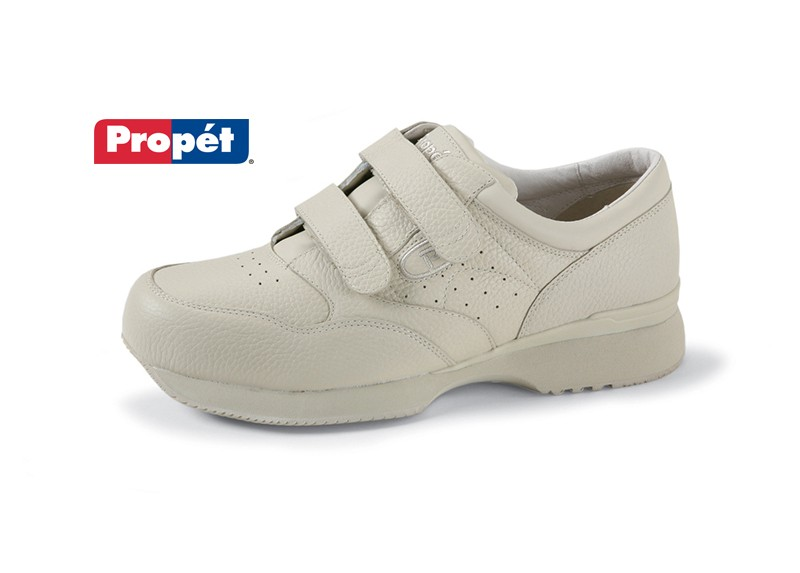 Men's Leather Velcro Shoe by Propet