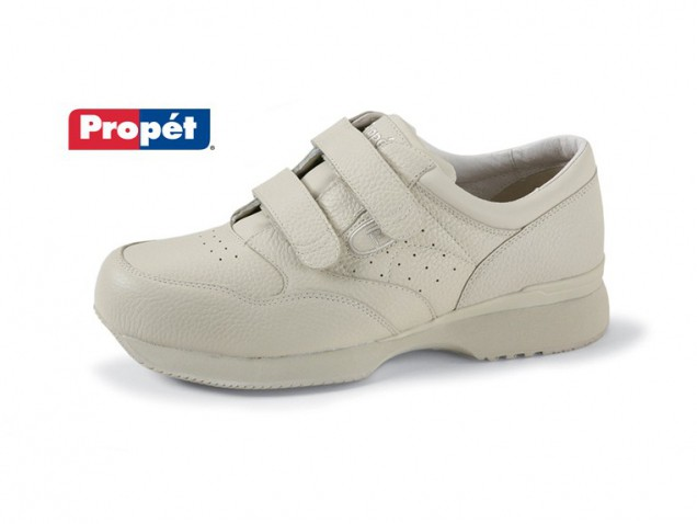 Men's Leather Velcro Shoe by Propet