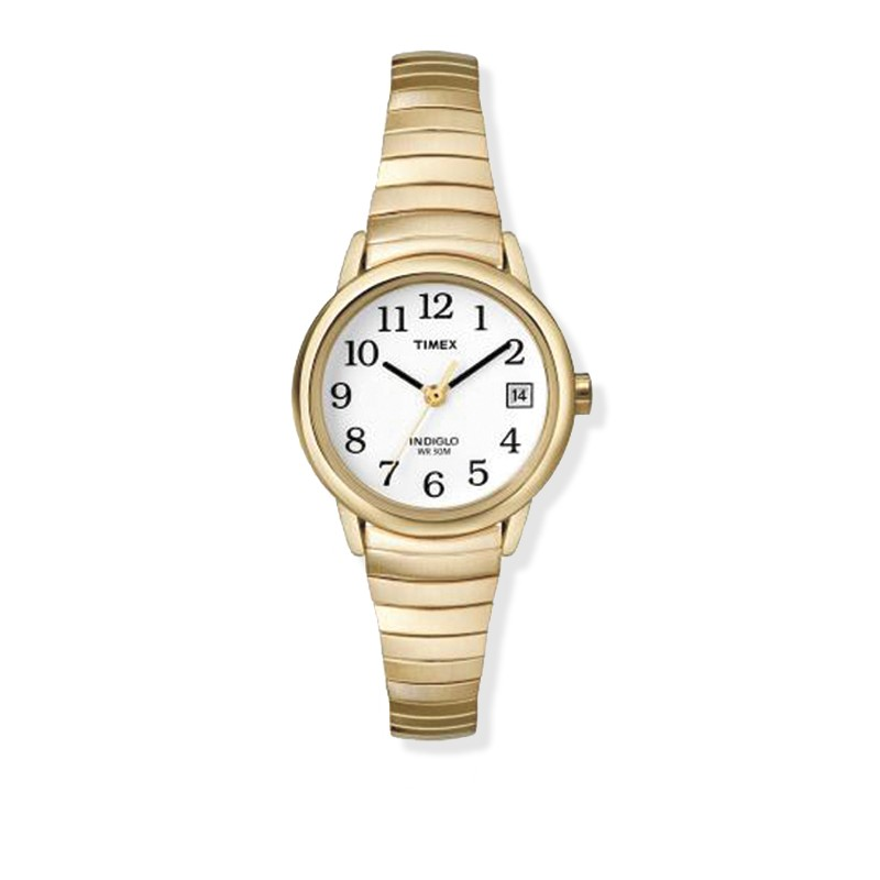 womens timex gold tone buck buck