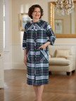 Flannel Duster - Plaid Image 01