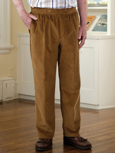 Men's Corduroy Putter Pants (3X-4X)