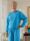 Women's Large Size Basic Sweatsuit (2X-4X) Image 02