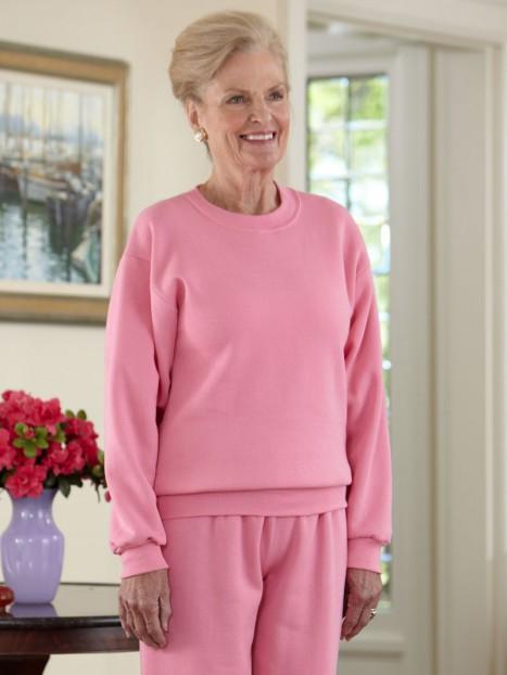Women's Large Size Basic Sweatsuit (2X-4X)