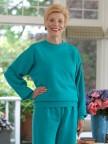 Women's Large Size Basic Sweatsuit (2X-4X) Image 03