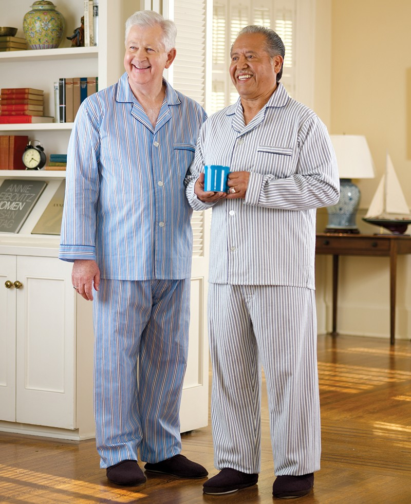 Men's Flannel Pajamas             (2X & 3X)