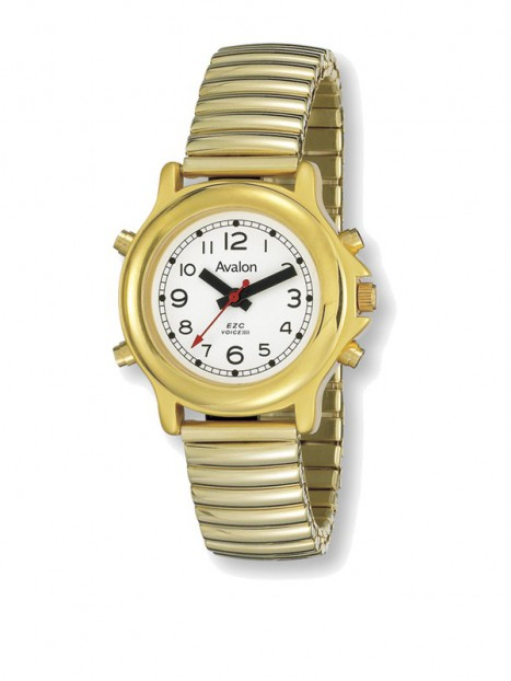 Women's Talking Watch-Gold Tone