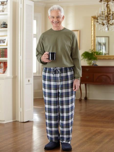Men's Flannel PJ Bottoms