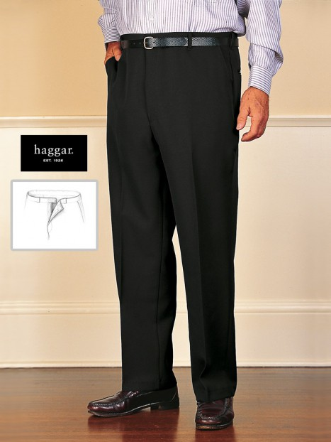 Men's Polyester Dress Slacks w/Velcro Fly Alteration