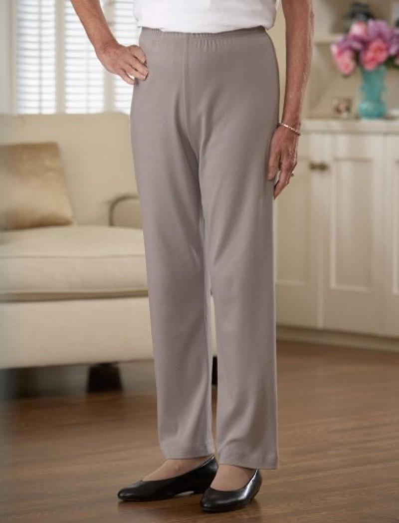 Cotton/Poly Knit Pants (S-2X)