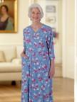 Floral Zip-Front Knit Dress Image 03