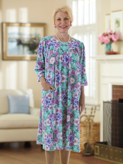 Cotton/Poly Knit Float Dress