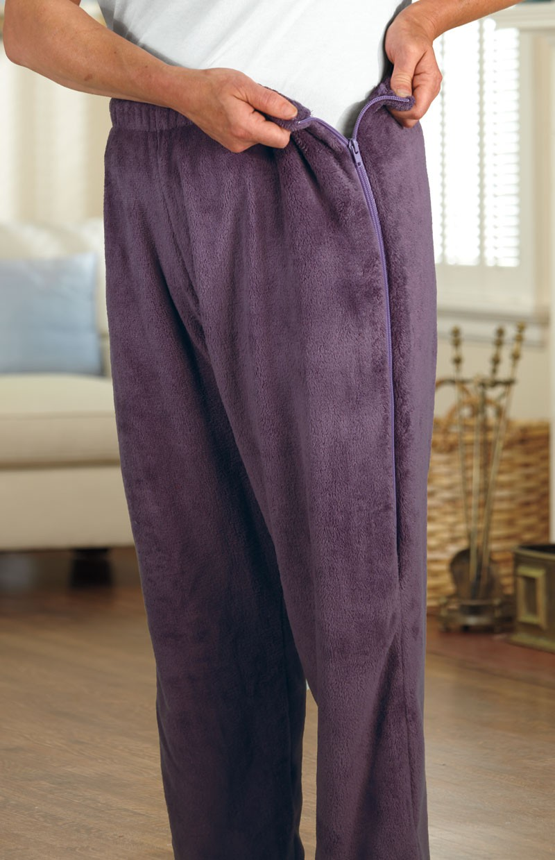 So-Soft Side Zip Pants