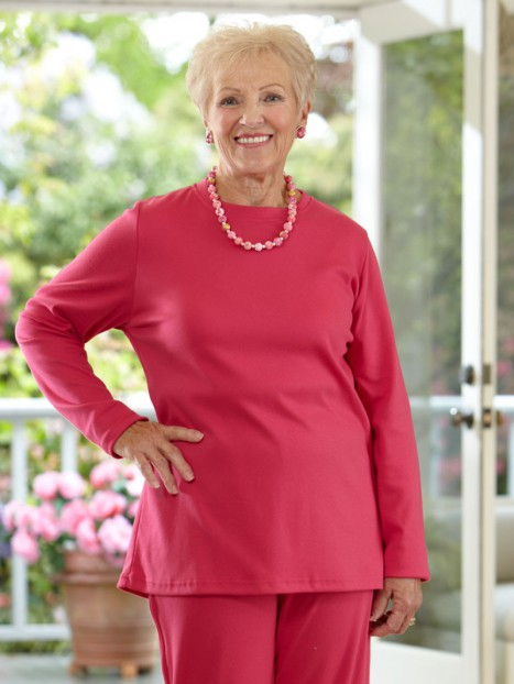 Long Sleeve Basic Adaptive Knit Set