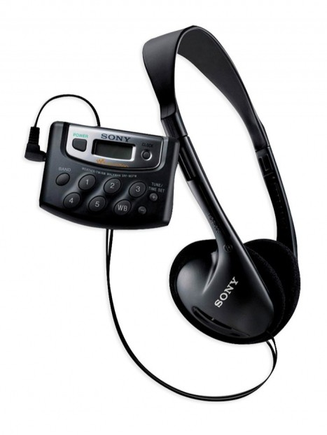 Sony AM/FM Weatherband Walkman