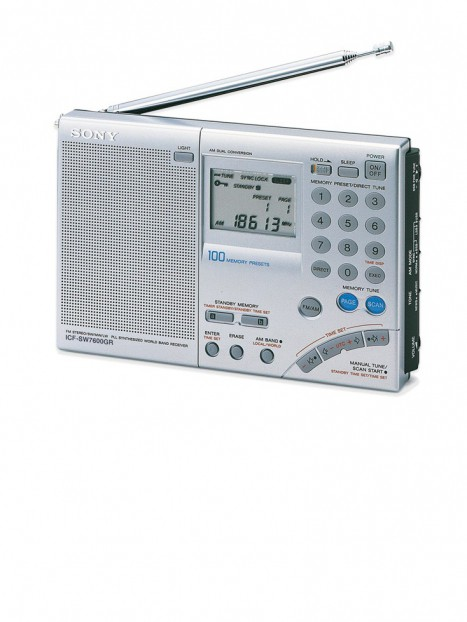Sony World Band Receiver Radio