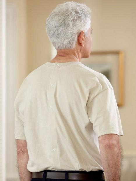 Men's Short Sleeve Printed Snap Back T-Shirt