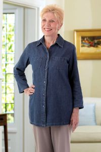 Dark Denim Tunic
