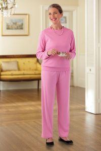 Long Sleeve Banded Bottom Knit Set