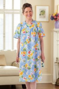 Hawaiian Print Snap Back Muu Muu
