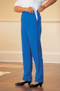 Women's Side-Zip Knit Pants