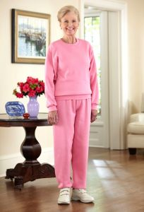 Women's Large Size Basic Sweatsuit (3X Only)