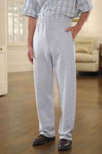Large Size Open Cuff Sweatpant