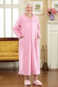 So-Soft Zip-Front Robe