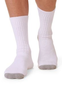 Diabetic Crew Sport Socks by WigWam-Unisex