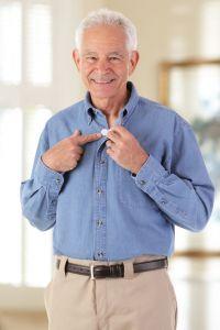 Long Sleeve Denim Shirt w/ VELCRO® Brand Fasteners