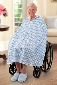 Seersucker Shower Robe