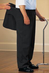 Men's Fleece Back-Flap Pants
