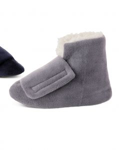 Men's Adjustable Shearling Bootie