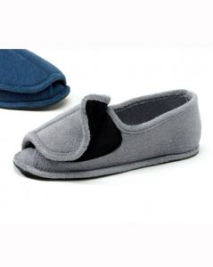 Men's Open Toe Terry Slipper