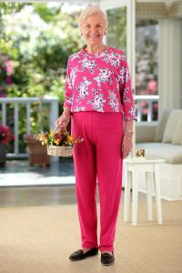 Printed Top Perfect Fit Jumpsuit (2X-3X)