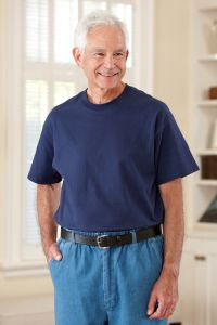 Men's Short Sleeve Solid T-Shirt