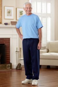 Men's Short Sleeve Basic T-Top Jumpsuit (S-2X)
