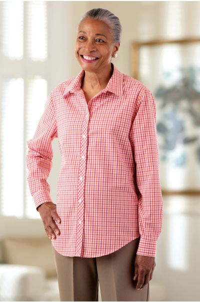 Women's Gingham Shirt